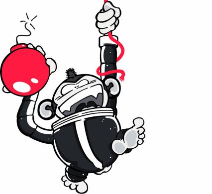 Wheee! A swinging Monkey.
